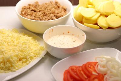 Kartupeļu sacepums. Recepte