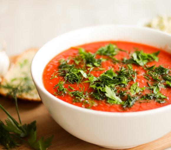 Gaspačo zupa. recepte
