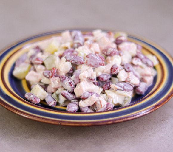 pupiņu salāti